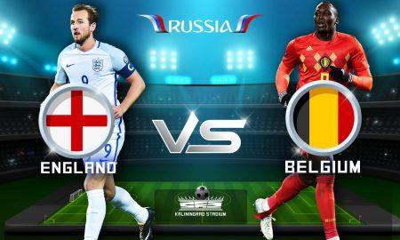 Англија - Белгија