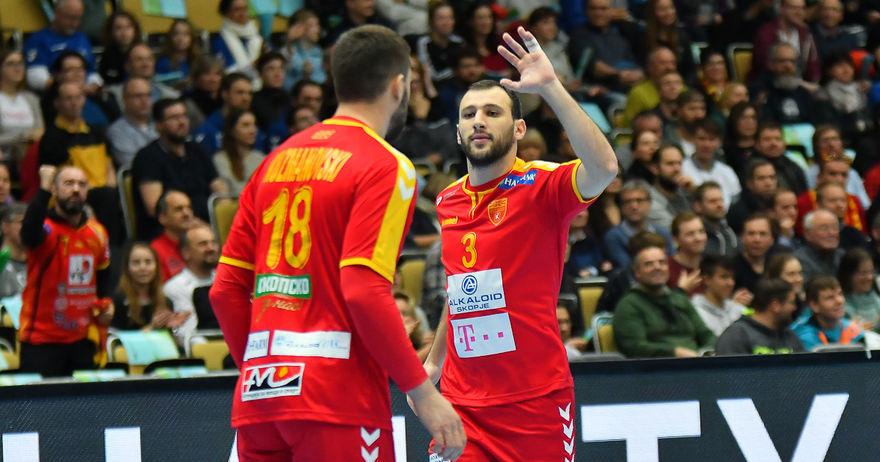 Ракометната репрезентација на Македонија