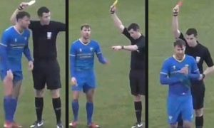 Фудбалер добри 3 картони за 12